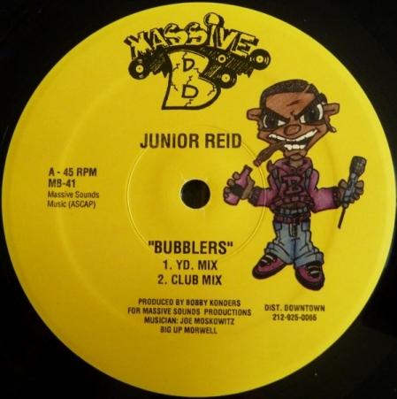 Junior Reid – Bubblers