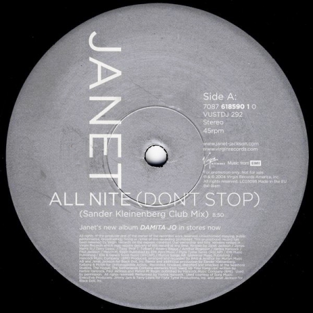 Janet – All Nite (Don't Stop)
