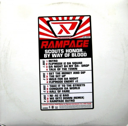 Rampage ‎– Scouts Honor... By Way Of Blood