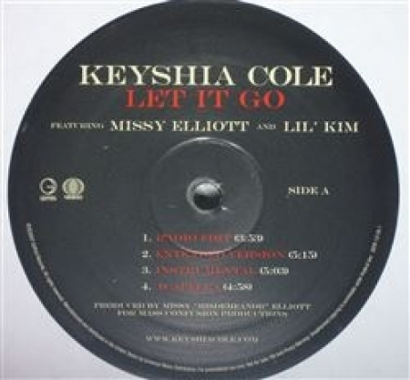 Keyshia Cole ‎– Let It Go
