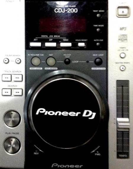 Cdj 200 Pioneer Semi-Novo (UNIDADE)