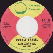 Dave And Ansil Collins* ‎– Double Barrel