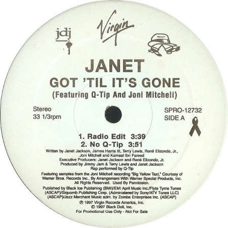 Janet ‎– Got 'Til It's Gone