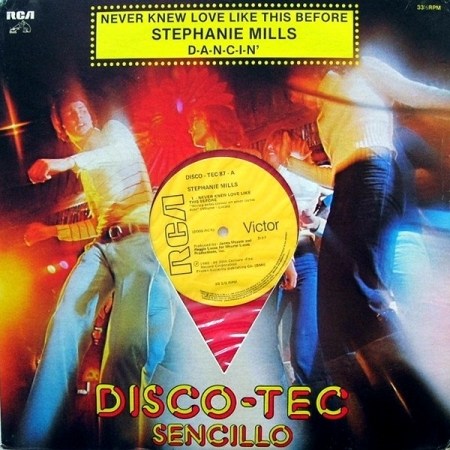 Stephanie Mills ‎– Never Knew Love Like This Before (VINYL VERMELHO)