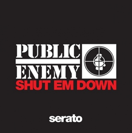 Timecode Serato Control Vinil Public Enemy Shut Em Down (O Par)