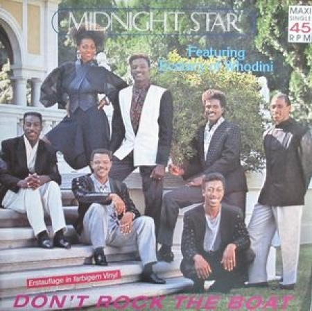 Midnight Star Featuring Ecstacy Of Whodini ?– Don't Rock The Boat