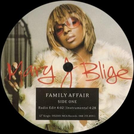 Mary J Blige – Family Affair