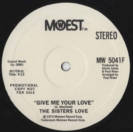 The Sisters Love ?– Give Me Your Love