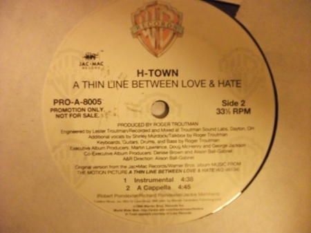 H-Town ?– Thin Line Between Love And Hate