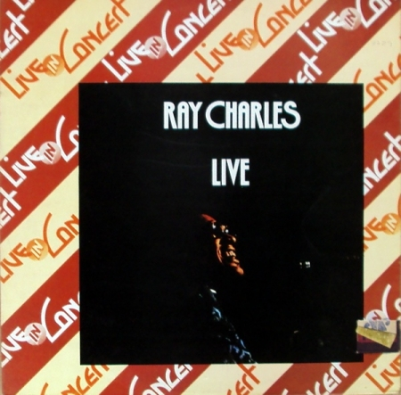 Ray Charles ‎– Live In Concert