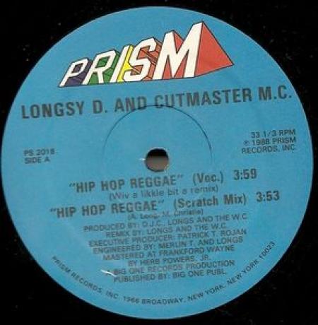 Longsy D And Cutmaster MC – Hip Hop Reggae