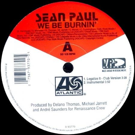 Sean Paul – We Be Burnin