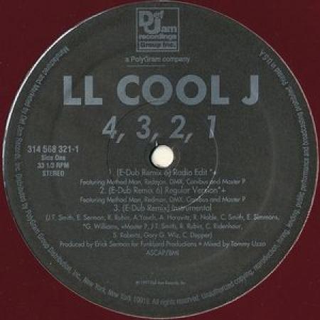 LL Cool J – 4,3,2,1