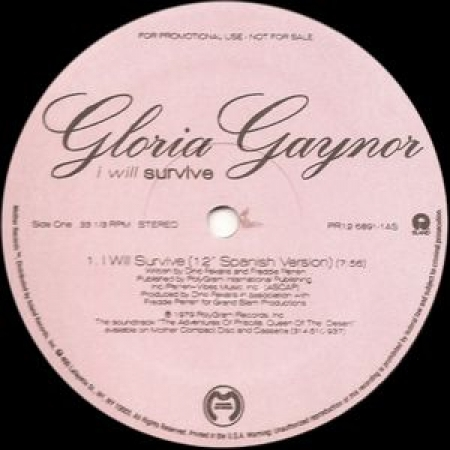 Gloria Gaynor Alicia Bridges ‎– I Will Survive I Love The Nightlife