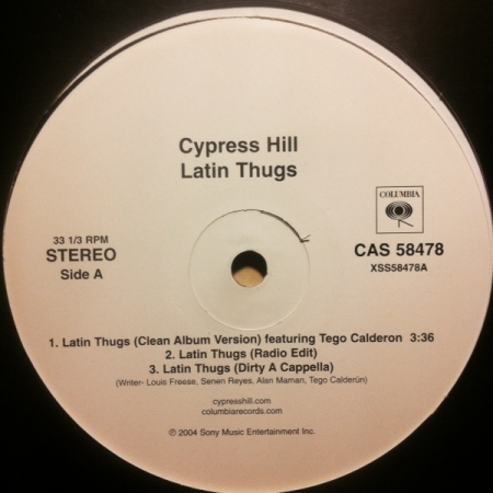 Cypress Hill ‎– Latin Thugs / Ganja Bus