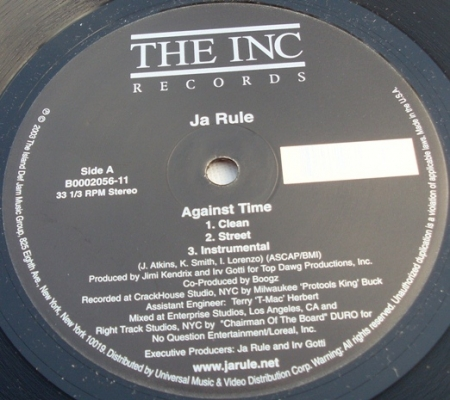 Ja Rule ?– Against Time / Ni**as & B**ches
