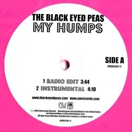 Black Eyed Peas – My Humps disco rosa