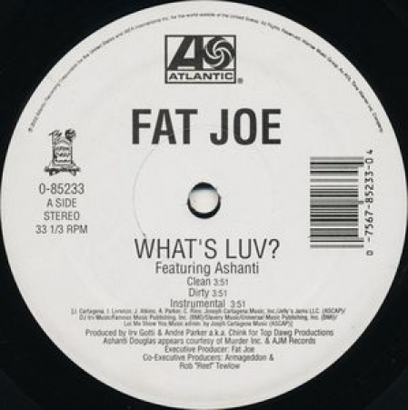 Fat Joe ‎– What's Luv? / Definition Of A Don