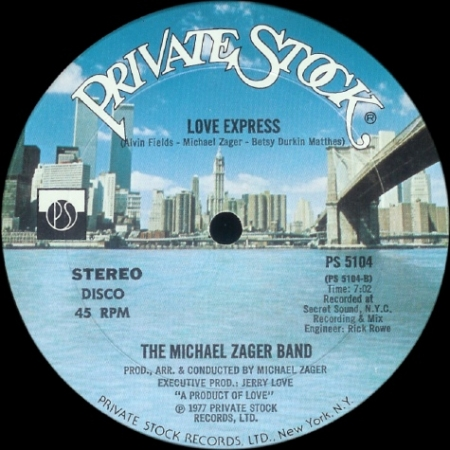 The Michael Zager Band – Let's All Chant / Love Express