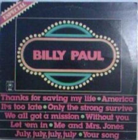 Billy Paul – Billy Paul Especial