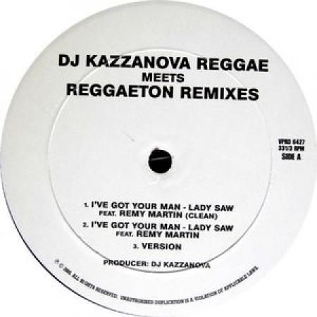 Dj Kazzanova – Reggae Meets Reggaeton Remixes