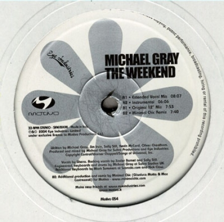 Michael Gray – The Weekend