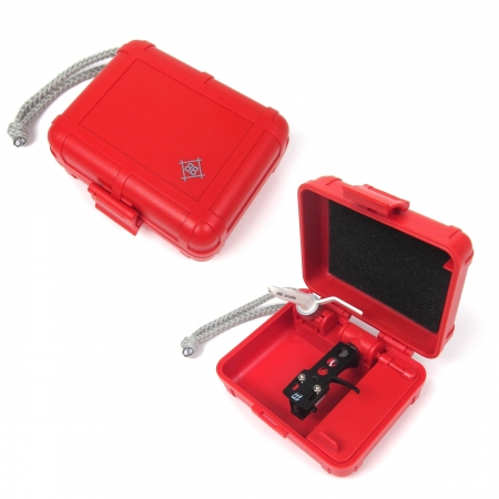 Case Para Agulhas - Black Box Red