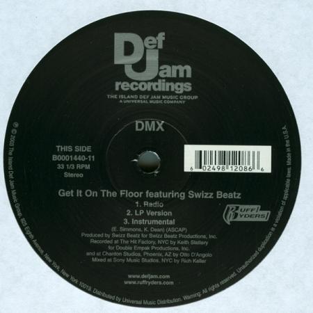 DMX ?– Get It On The Floor