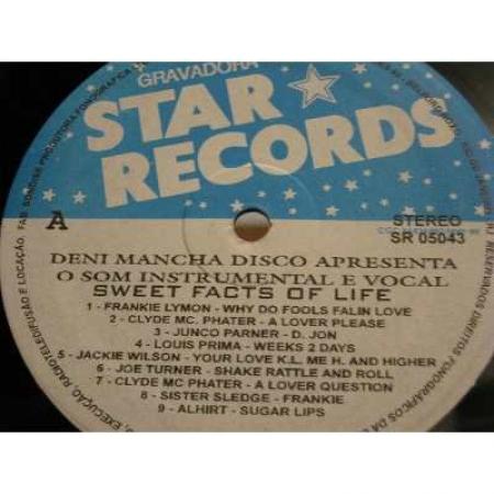Deni Mancha Disco Apesenta: Sweet Facts Of Life, O Som Intrumental E Vocal