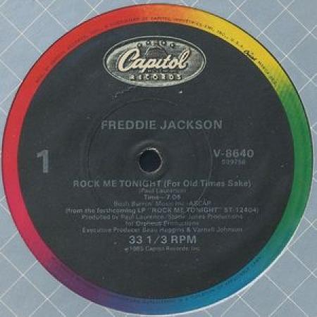 Freddie Jackson – Rock Me Tonight (For Old Times Sake)