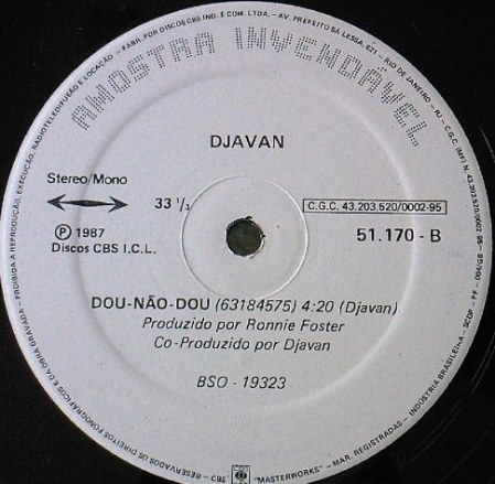 Djavan – Dou-Não-Dou