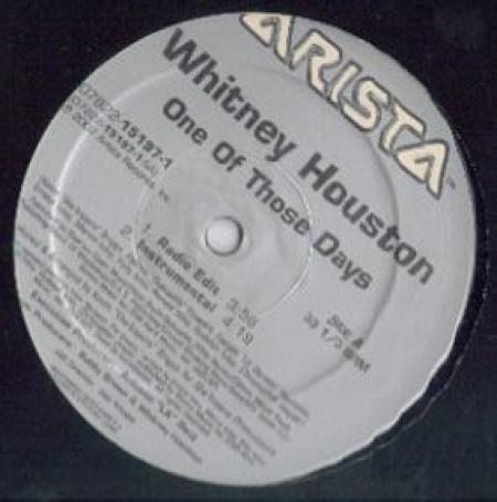 Whitney Houston – One Of Those Days
