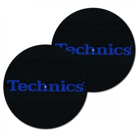 Feltro Technics Black Blue Espessura Media (O PAR)