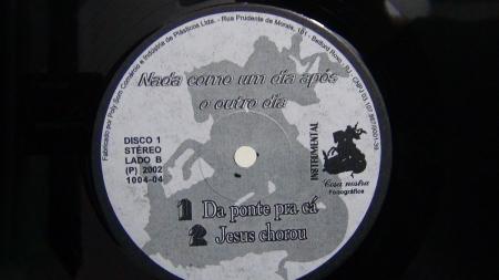 Racionais Mcs - Nada Como Um Dia Após Outro Dia (LP Quádruplo Instrumental)