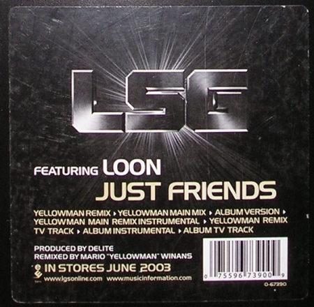 LSG ‎– Just Friends