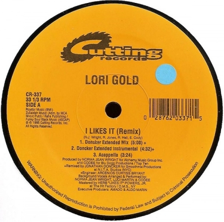 Lori Gold ‎– I Likes It (Remix)
