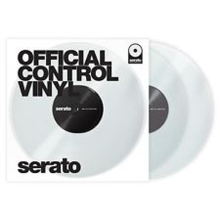 Timecode Serato Control Vinyl Performance Clear Transparente (O Par)