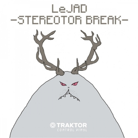 Timecode Traktor Control Vinil Le Jad Stereotor Break (Unidade)