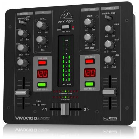 Mixer Behringer VMX 100 USB (NOVO)