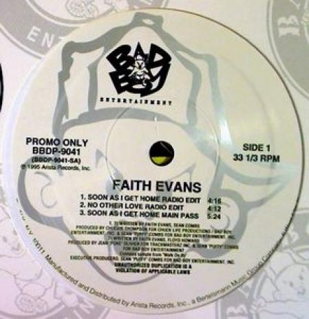 Faith Evans – Soon As I Get Home