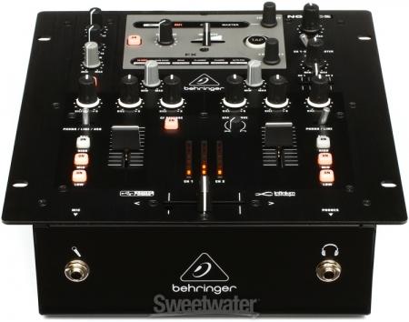 Mixer Behringer 2 Canais Com Entrada Usb Nox202