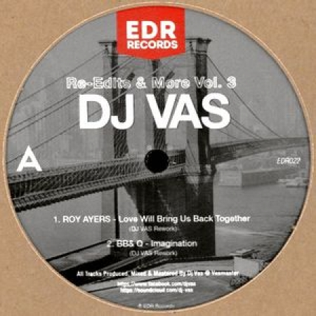 DJ Vas ?– Re-Edits & More Vol. 3