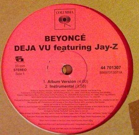 Beyoncé – Déjà Vu