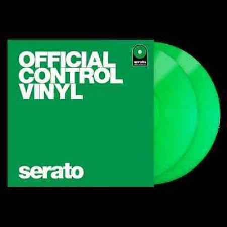Timecode Serato Control Vinil Performance Series Green (O Par)