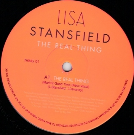 Lisa Stansfield ‎– The Real Thing