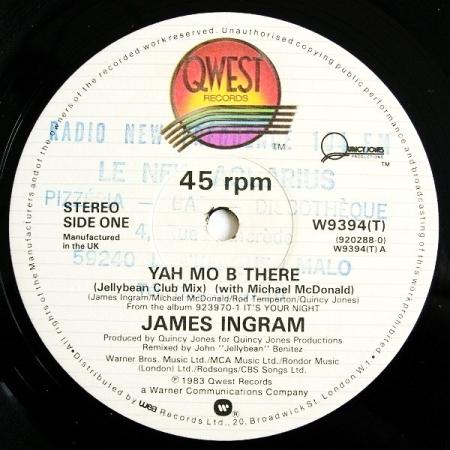 James Ingram – Yah Mo B There