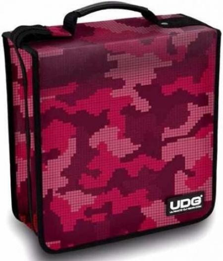 Case para Cd ou DVD UGD (Pink) p/ 180 Midias