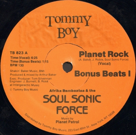 Afrika Bambaataa & The Soul Sonic Forcel ?– Planet Rock
