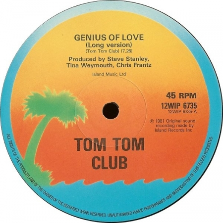 Tom Tom Club Mr. Yellow ‎– Genius Of Love -Yella