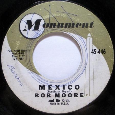 Bob Moore And His Orch Bob Moore His Orch. & Chorus ?– Mexico Hot Spot